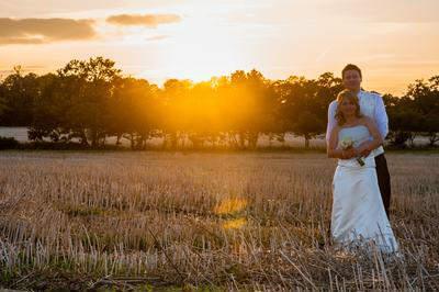 unique wedding photograph
