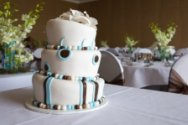 fun wedding cake design
