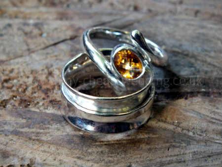 custom silver wedding rings
