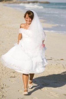 cheap beach wedding dresses